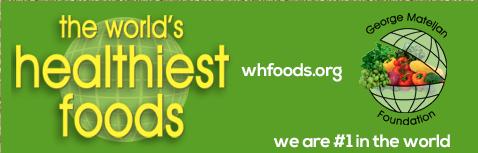 World's Healthiest Food Website Image